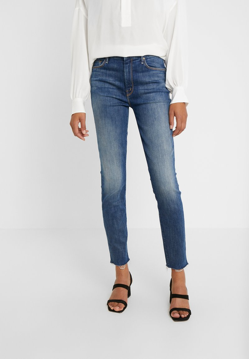 Mother - HIGH WAISTED LOOKER ANKLE CHEW - Jeans Skinny Fit - not rougn enough