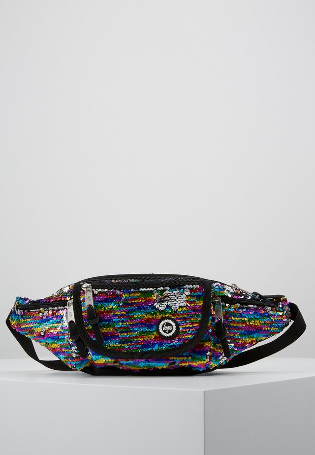 BUM BAG RAINBOW  - Across body bag - multi