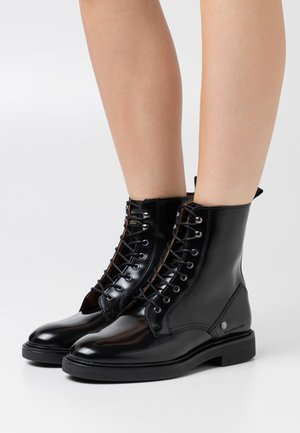CORBEL BOOT - Lace-up ankle boots - black