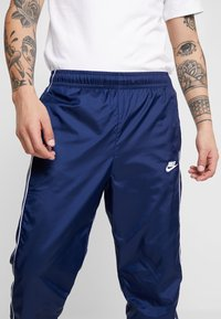 Nike Sportswear - SUIT BASIC - Tracksuit - midnight navy/white - 6