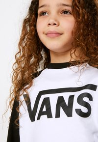 Vans - CLASSIC RAGLAN BOYS - Long sleeved top - white/black - 4