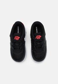 Nike Sportswear - FORCE 1 - Trainers - black/white/flash crimson - 3