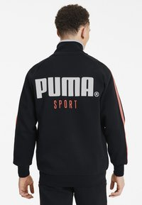 Puma - Veste de survêtement - cotton black - 2