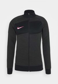 Nike Performance - DRY ACADEMY - Sportovní bunda - dark smoke grey/heather/hyper pink - 4