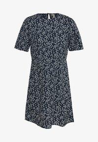 Pieces - PCMALENE DRESS - Kjole - navy - 0