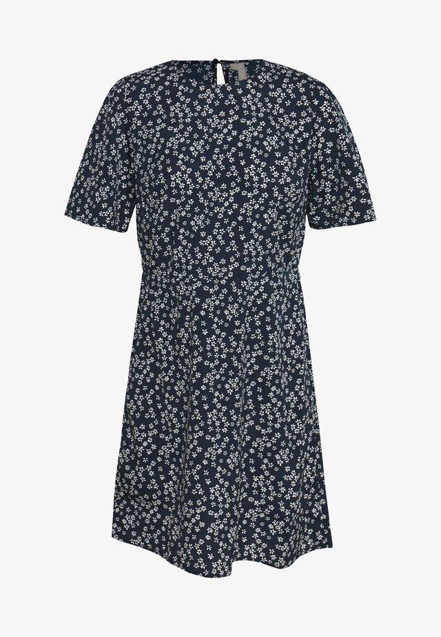 PCMALENE DRESS - Day dress - navy