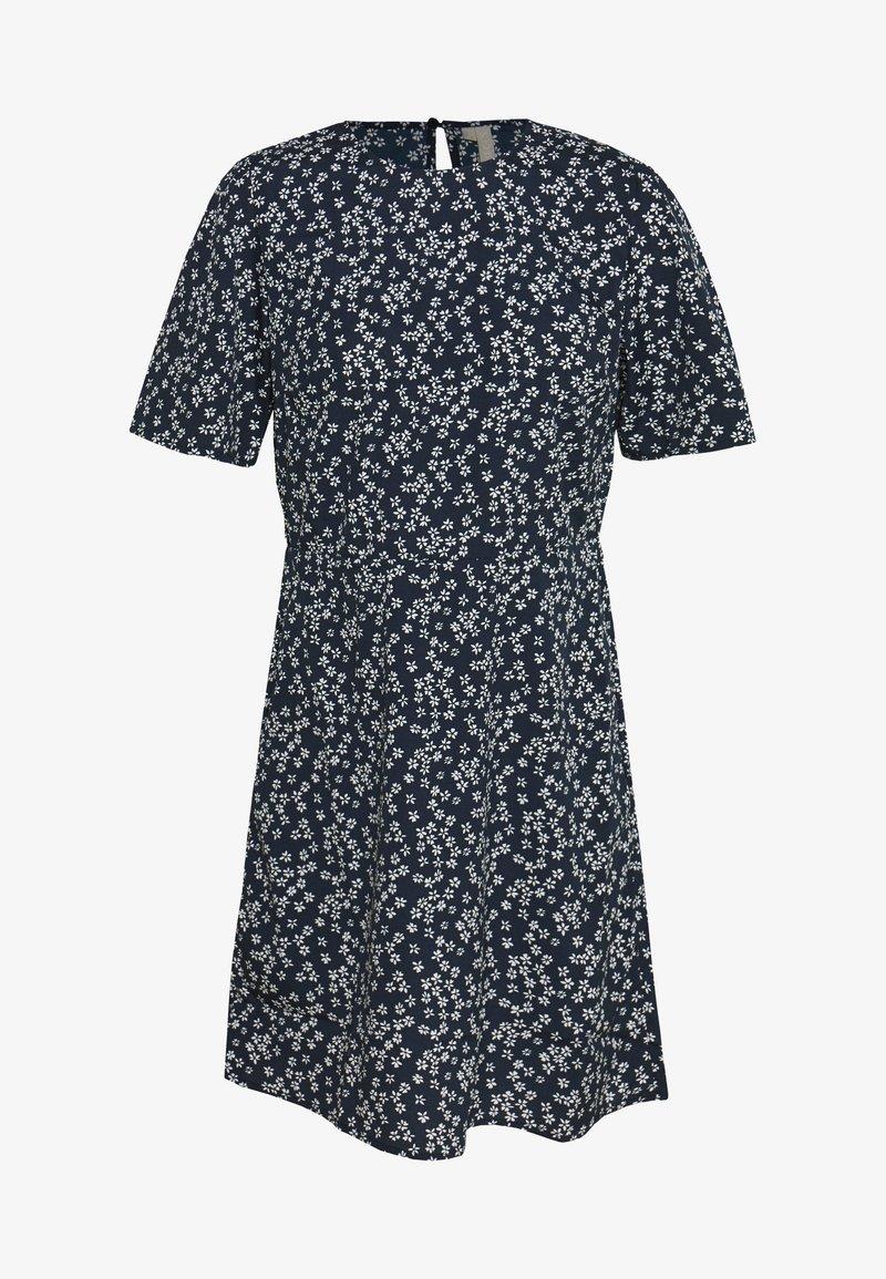 Pieces - PCMALENE DRESS - Kjole - navy