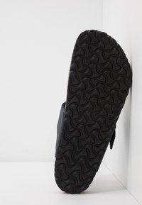 Birkenstock - MEDINA VEGA - T-bar sandals - matt navy - 4