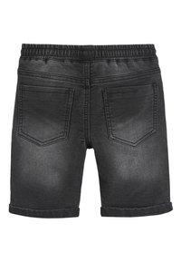 Next - BLACK JERSEY JEAN SHORTS (3-16YRS) - Denim shorts - black - 1