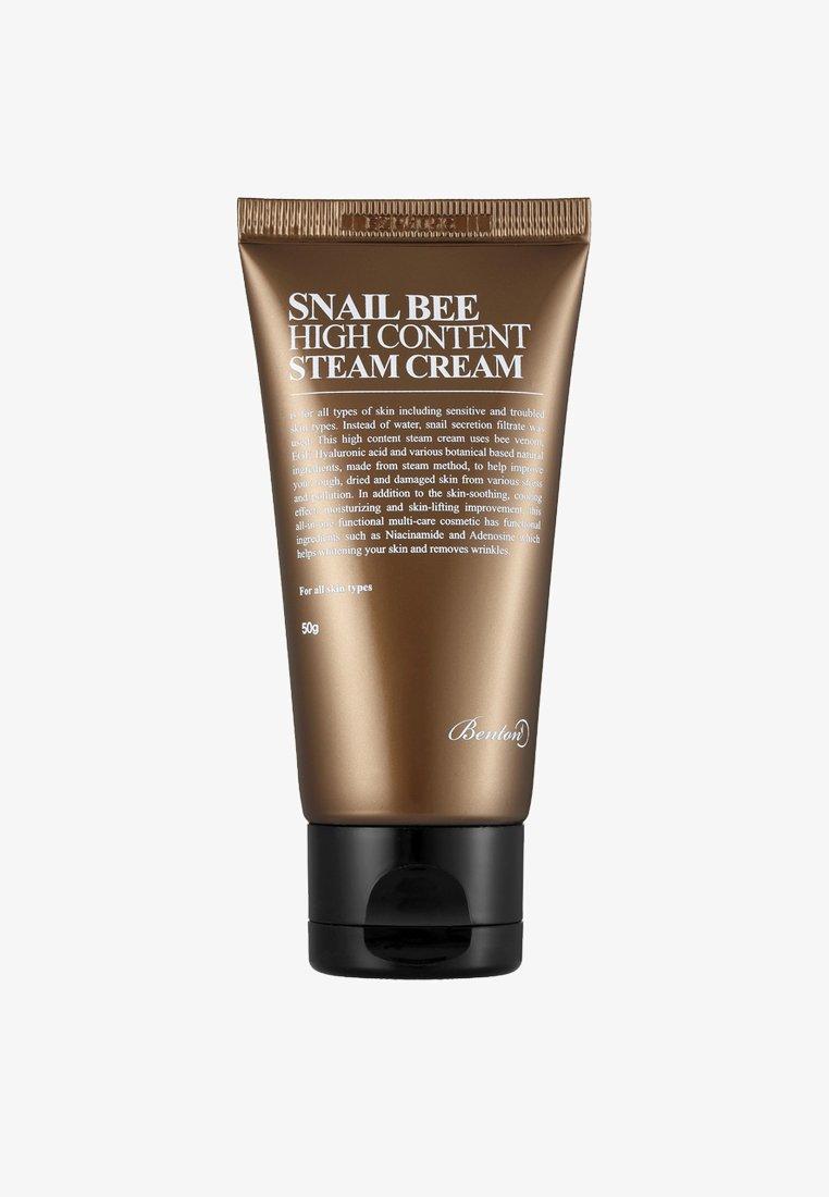 Benton - SNAIL BEE HIGH CONTENT STEAM CREAM - Face cream - -