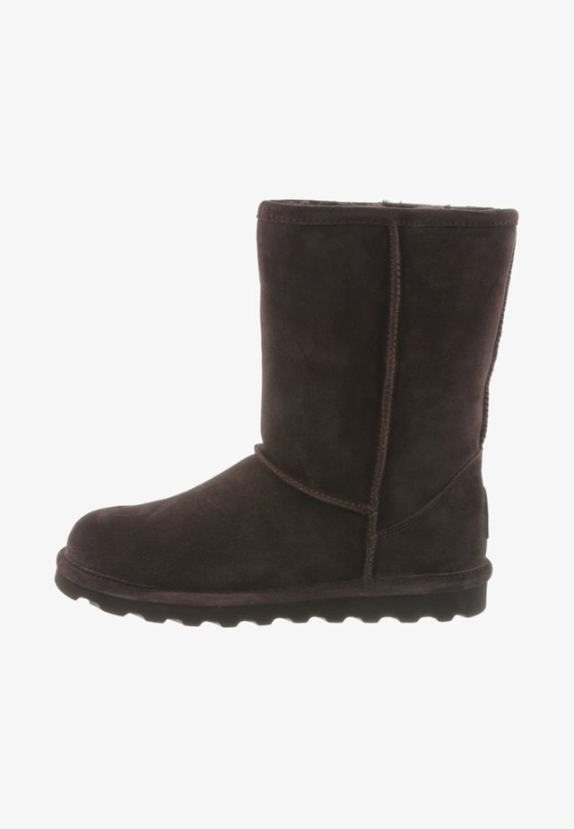ELLE  - Winter boots - chocolate