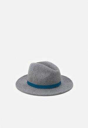 WOMEN SWIRL FEDORA - Hat - grey