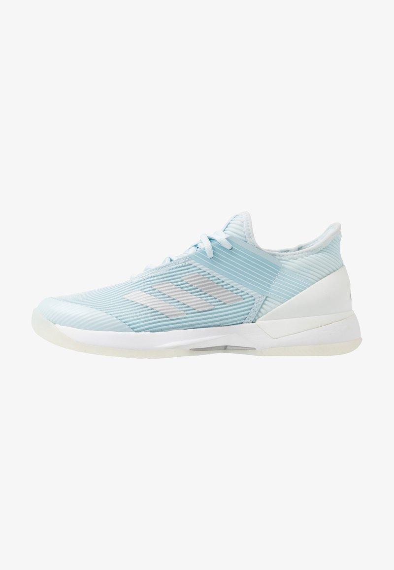 adidas Performance - ADIZERO UBERSONIC 3 - Multicourt tennis shoes - sky tint/silver metallic/footwear white