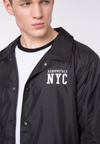 AÉROPOSTALE - Light jacket - black - 4