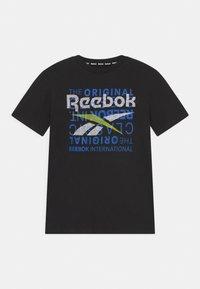 Reebok - ORIGINAL CLASSIC TEE - Print T-shirt - black - 0