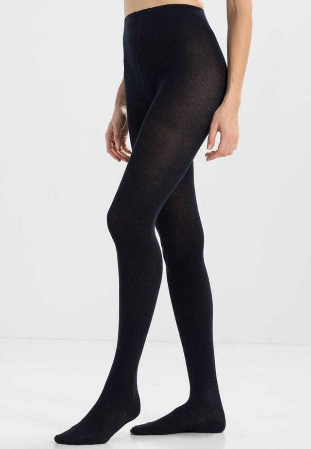 FALKE Family Strumpfhose Blickdicht glatt - Tights - dark navy