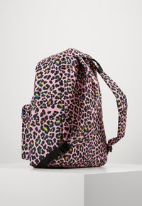 Hype - BACKPACK RAINBOW LEOPARD POM POM - Reppu - multi-coloured - 1