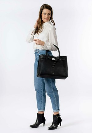 JOSY - Tote bag - black