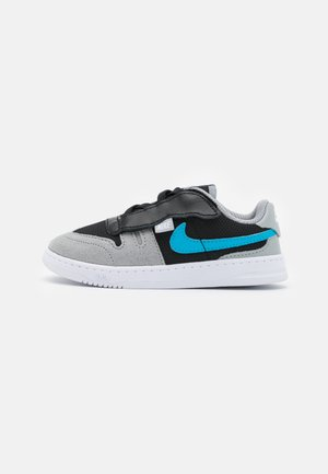 SQUASH-TYPE - Baskets basses - black/laser blue/light smoke grey/white