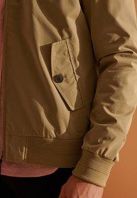 Superdry - HARRINGTON - Summer jacket - tan - 2
