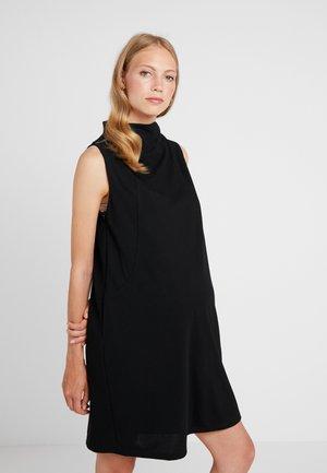 CYRILLA DRESS - Jerseyjurk - black