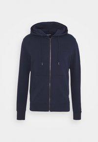 JJEBASIC ZIP HOOD - veste en sweat zippée - navy blazer