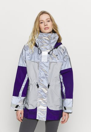Hardshell jacket - reflective silver/clear onix/collegiate purple