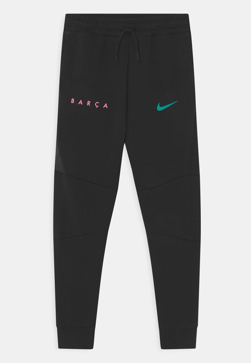 Nike Performance - FC BARCELONA UNISEX - Club wear - black/new green