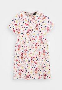 Mini Rodini - RABBIT DRESS - Jersey dress - offwhite - 0
