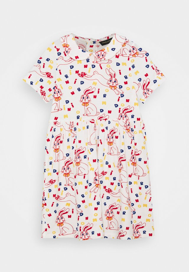 RABBIT DRESS - Jerseyjurk - offwhite