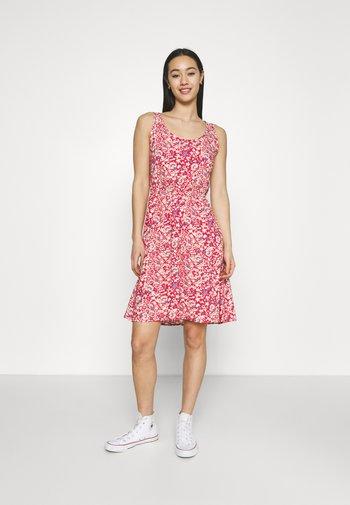 ONLNOVA LIFE SARA DRESS - Day dress - mineral red