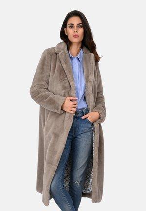 SHADOW - Klassischer Mantel - dark beige