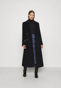 Calvin Klein - TURTLE NECK - Long sleeved top - black - 1