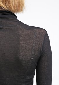 American Vintage - MASSACHUSETTS TURTLE NECK - Long sleeved top - noir - 5