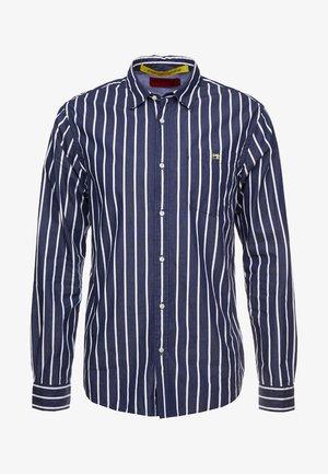 REGULAR FIT CLASSIC BRETON STRIPE - Shirt - dark blue
