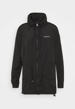 PACKABLE JACKET - Summer jacket - black