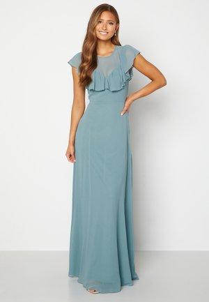 LEA FRILL - Maxi dress - green