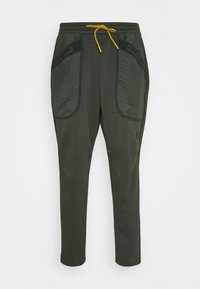 adidas Performance - ATHLETICS TECH COLD.RDY SPORTS PANTS - Pantalones deportivos - dark green - 4