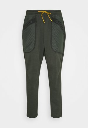ATHLETICS TECH COLD.RDY SPORTS PANTS - Tracksuit bottoms - dark green