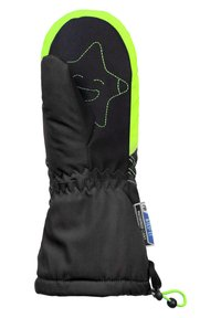 Reusch - Mittens - black green gecko - 2