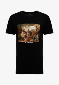 Mister Tee - CLUB TEE - Print T-shirt - black - 3