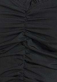 Missguided - RUCHED MILKMAID - Blouse - black - 2
