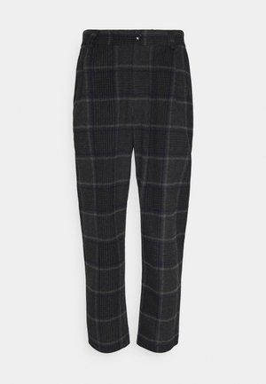 SMOKE - Trousers - grey melange