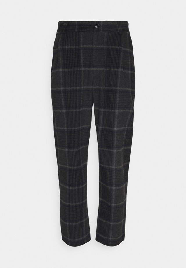 SMOKE - Pantalon classique - grey melange