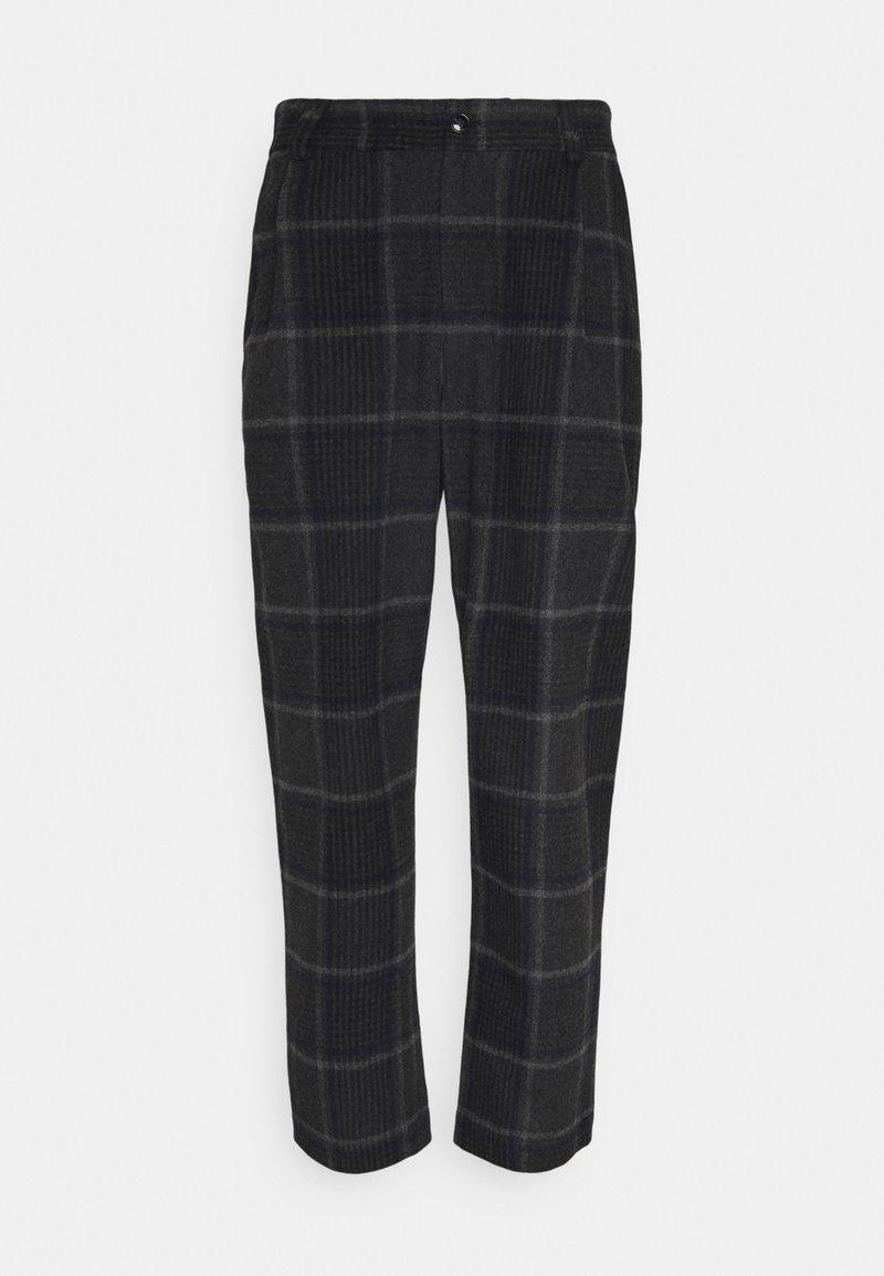 Libertine-Libertine - SMOKE - Spodnie materiałowe - grey melange