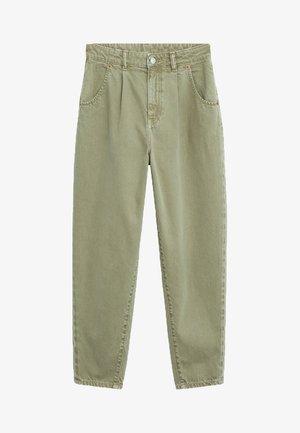 REGINA - Straight leg jeans - khaki