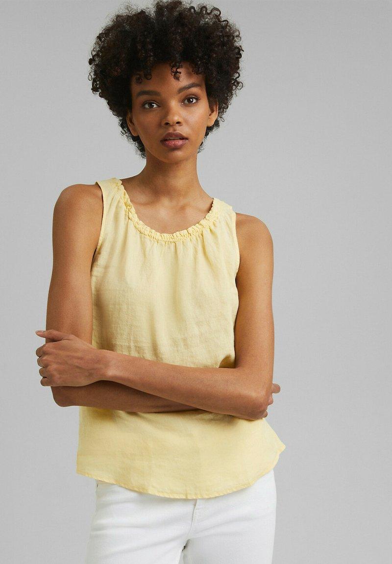 edc by Esprit - Blouse - light yellow