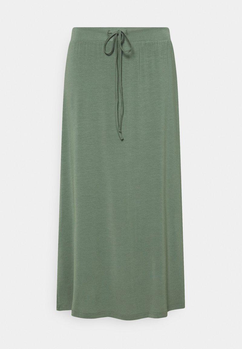 Vero Moda Curve - VMAVA ANCLE SKIRT - A-line skirt - laurel wreath