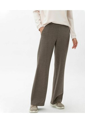 MAINE - Trousers - dark camel