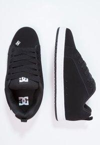 DC Shoes - COURT GRAFFIK - Skateboardové boty - black - 1